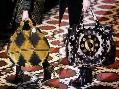Итальянские производители сумок стараются... за.  В сезоне осень зима...